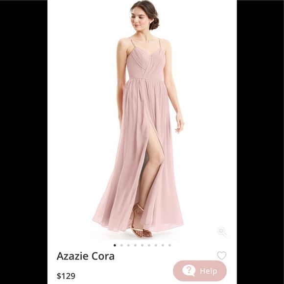 b9ba9c29d78 Azazie Dresses   Skirts - Azazie CORA Bridesmaid dress in Dusty Rose